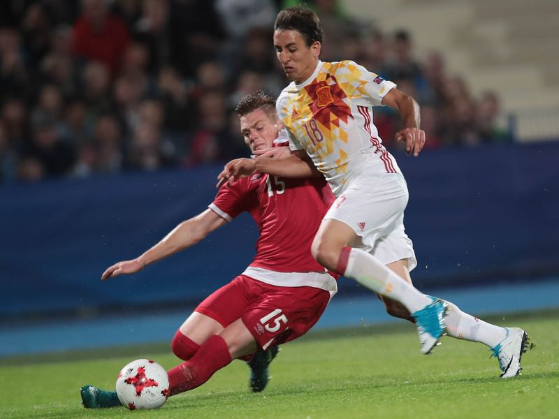 Serbia could not upset Spain. (ROMAN BOSIACKI/AFP/Getty Images)