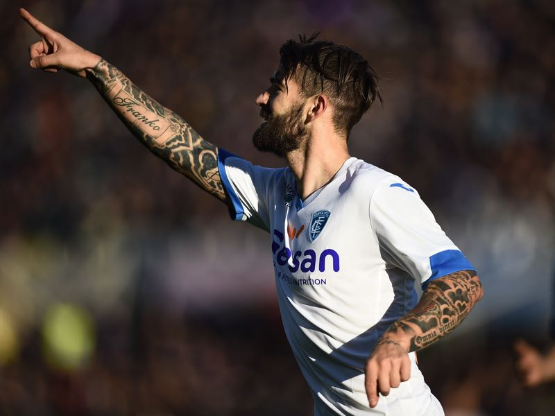 Marko Livaja has had a bit of a journeyman career. (FILIPPO MONTEFORTE/AFP/Getty Images)
