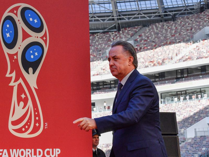 Vitaly Mutko has come up with a new idea to further the progress of the Russian national team. (MLADEN ANTONOV/AFP/Getty Images)