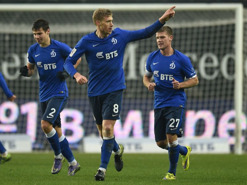 Pogrebnyak is Dinamo Moscow's most prominent player. (Photo by Epsilon/Getty Images)
