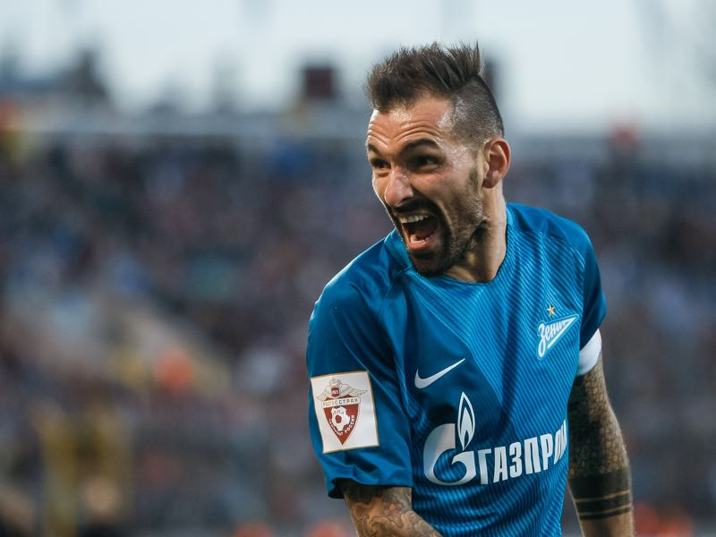 Former Zenit captain Danny is Slavia Praha's most prominent signing. (Photo by Epsilon/Getty Images)