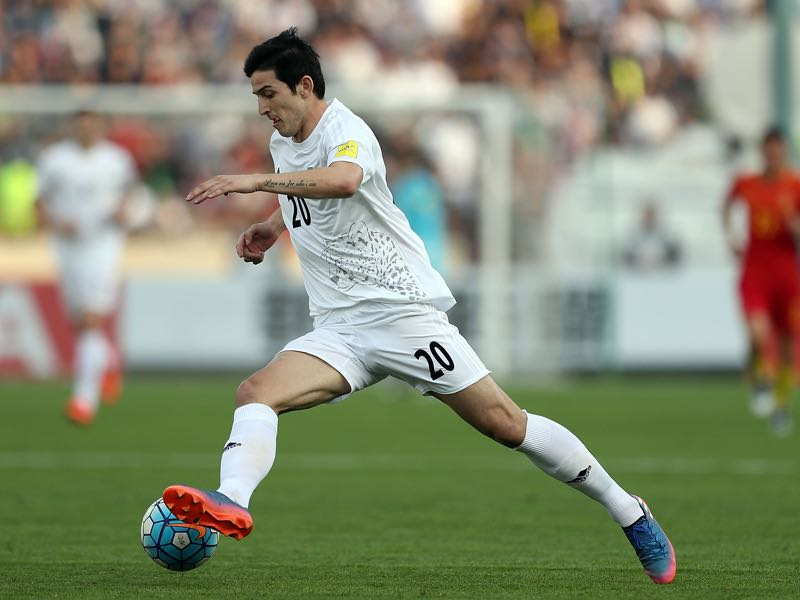 Sardar Azmoun plays for Rubin Kazan. (Photo by Amin M. Jamali/Getty Images)