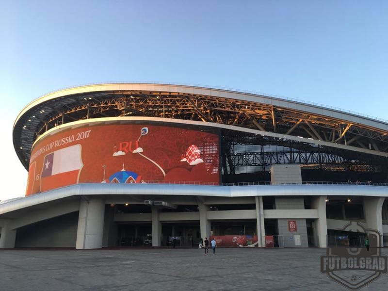 Brazil vs Belgium will take place at the Kazan Arena (Manuel Veth/Futbolgrad Network)