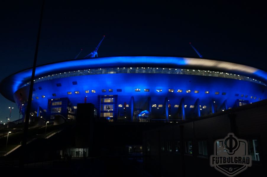 Zenit vs Lokomotiv Moscow will take place at the Krestovsky Stadium. (Manuel Veth / Futbolgrad Network)