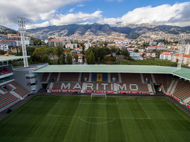 Maritimo vs Dynamo Kyiv will take place at the Estádio do Maritímo, Funchal.  (Photo by Octavio Passos/Getty Images)
