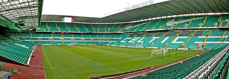 Celtic vs Zenit will take place at the Celtic Park. (Zhi Yong Lee from Glasgow, UK cc-by-2.0.)