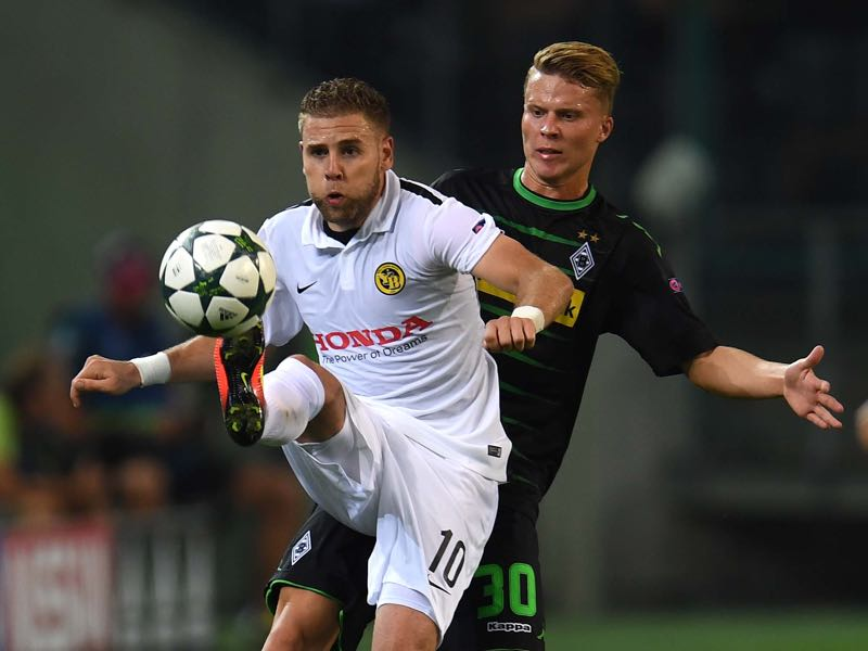 Yoric Ravet could leave Young Boys after the Champions League playoffs. (PATRIK STOLLARZ/AFP/Getty Images)