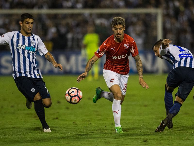 Emiliano Rigoni has been vital for Independiente's resurrection this season. (ERNESTO BENAVIDES/AFP/Getty Images)