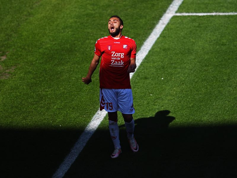 Zakaria Labyad of FC Utrecht is our player to watch. (Photo by Dean Mouhtaropoulos/Getty Images)
