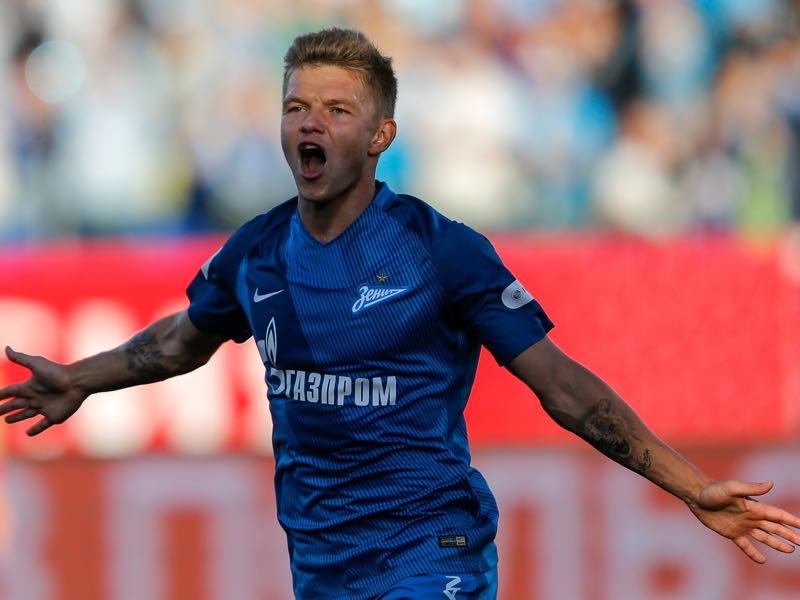 Oleg Shatov will be key for Zenit on Sunday. (Photo by Epsilon/Getty Images)