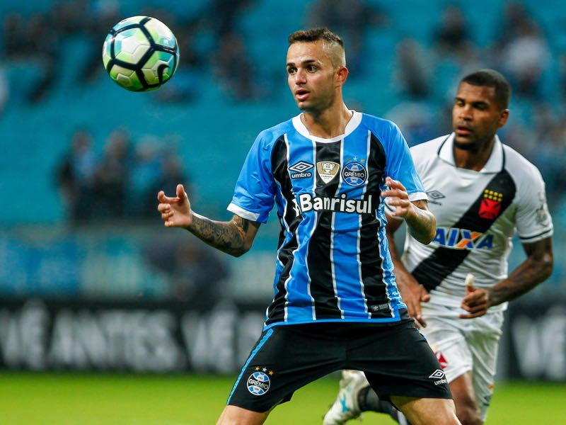 Luan has been impressive for Grêmio this season. (Photo by Lucas Uebel/Getty Images)