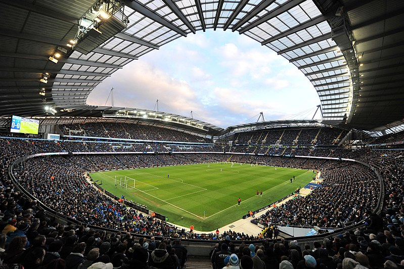 Manchester City vs Shakhtar Donetsk will take place at the City of Manchester Stadium (Cleria Santos CC-BY-2.0)