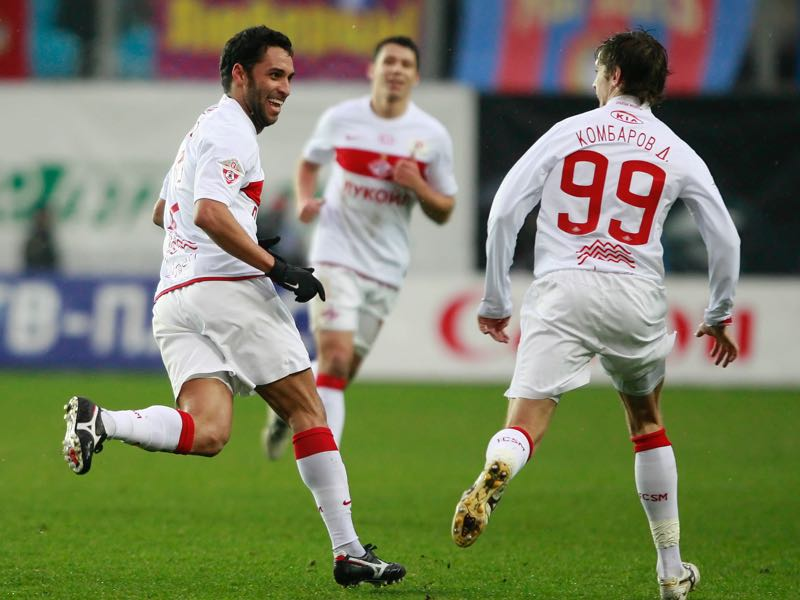 Ibson fondly remembers his time at Spartak Moscow.  (Photo by Dmitry Korotayev/Epsilon/Getty Images)