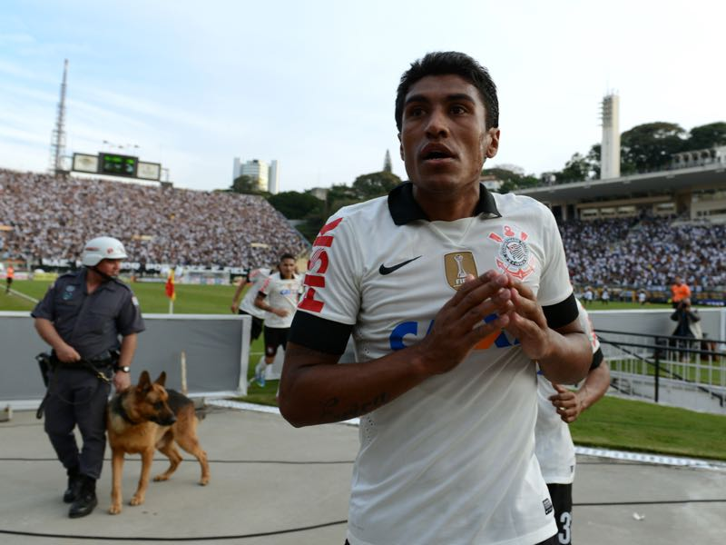 From FC Vilnius Paulinho would move to Poland and then back to Brazil where he had his breakthrough with Corinthians.(YASUYOSHI CHIBA/AFP/Getty Images)