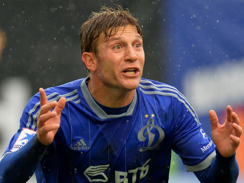 Andriy Voronin during his time at Dinamo Moscow. (Photo by Epsilon/Getty Images)