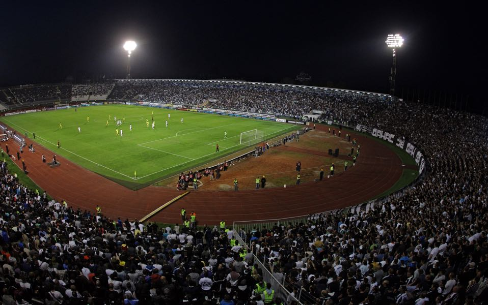 Partizan vs Besiktas will take place at the Partizan Stadium in Belgrade. (Photo by Pedja Milosavljevic/EuroFootball/Getty Images)