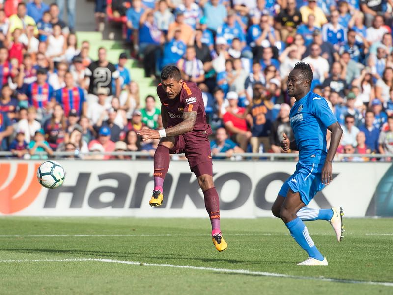 Paulinho's goal against Getafe on Saturday concluded a long journey that started 11-years ago at FC Vilnius. (Photo by Denis Doyle/Getty Images)