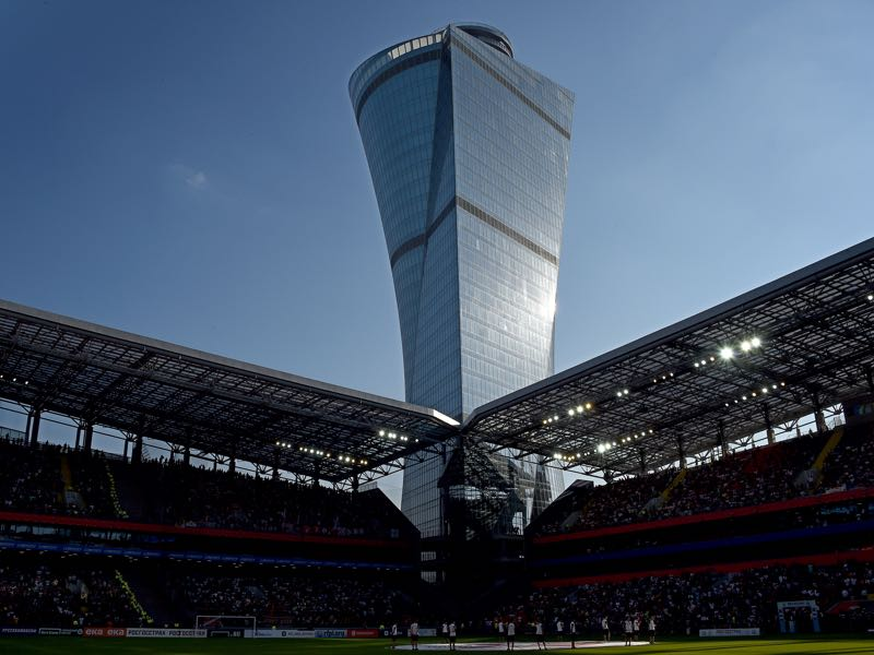 CSKA Moscow vs Arsenal will take place at the VEB Arena in Moscow. (Photo by Epsilon/Getty Images)