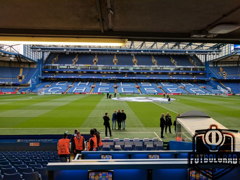 The stage is set for Chelsea v Qarabag at Stamford Bridge (Chris Williams / Futbolgrad Network)