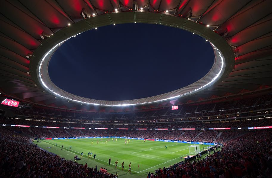 Atlético Madrid vs Qarabag will take place at the Wanda Metropolitano. (Photo by Denis Doyle/Getty Images)