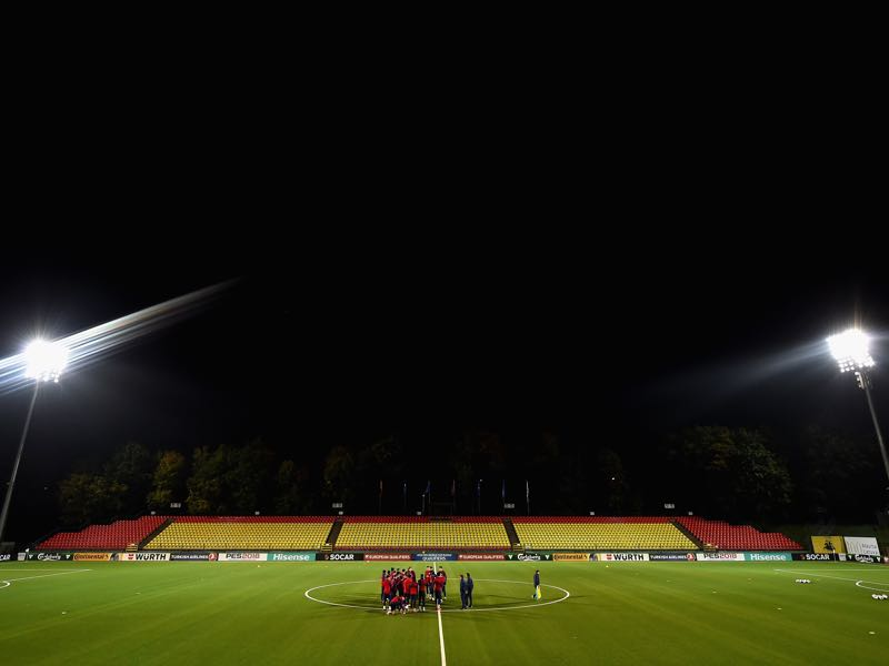Lithuania vs Serbia will take place at the LFF Stadium in Vilnius (Photo by Dan Mullan/Getty Images)