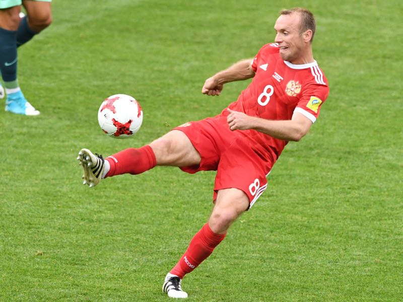Denis Glushakov will be the key player for Spartak Moscow. (YURI KADOBNOV/AFP/Getty Images)