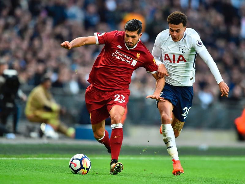 Emre Can will be the Liverpool player to watch. (GLYN KIRK/AFP/Getty Images)