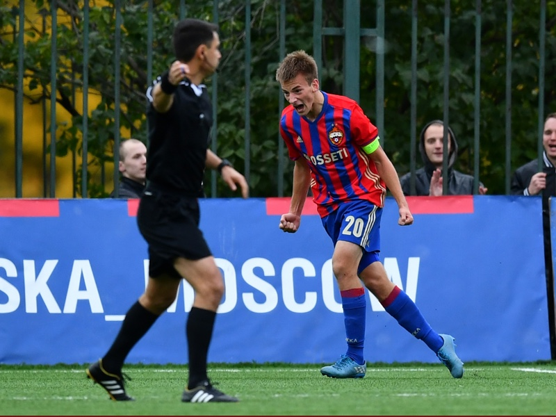 Konstantin Kuchaev is the next exciting attacking prospect to emerge from the CSKA Academy. (Photo by Dan Mullan/Getty Images)