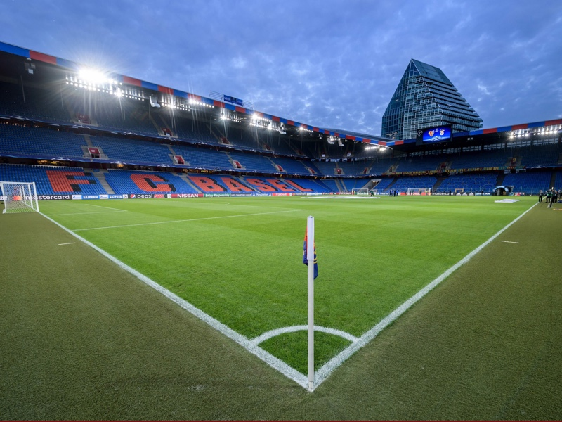 Basel vs CSKA Moscow will take place at the St. Jakob Park in Basel. FABRICE COFFRINI/AFP/Getty Images)