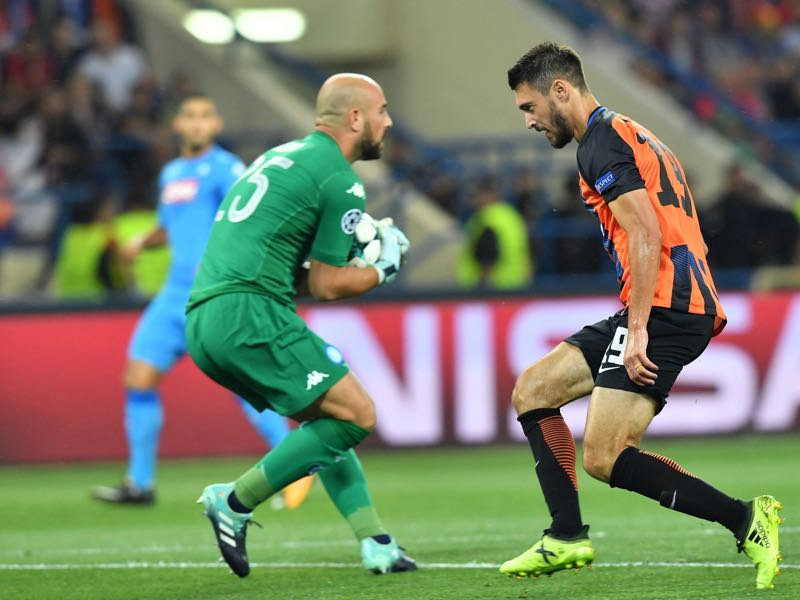 Facundo Ferreyra will be Shakhtar's key player against Feyenoord. (SERGEI SUPINSKY/AFP/Getty Images)