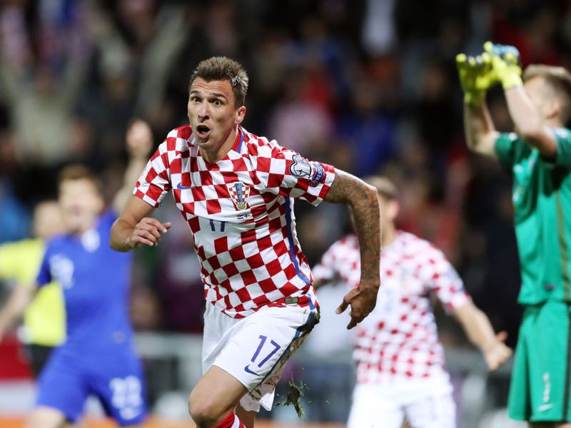 Mario Mandzukić has been Croatia's most dangerous forward. (STRINGER/AFP/Getty Images)