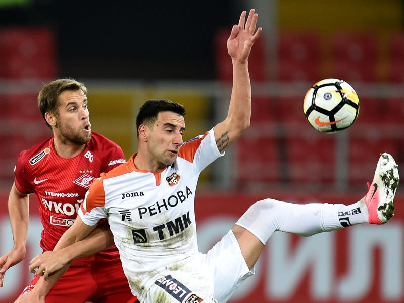 Guided by Aleksandr Tarkhanov Ural Yekaterinburg have left the likes of Spartak Moscow behind them in the Russian Football Premier League table. (Photo by Epsilon/Getty Images)