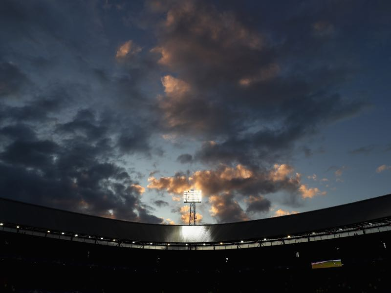 Feyenoord vs Shakhtar will take place at De Kuip in Rotterdam. (Photo by Michael Steele/Getty Images)
