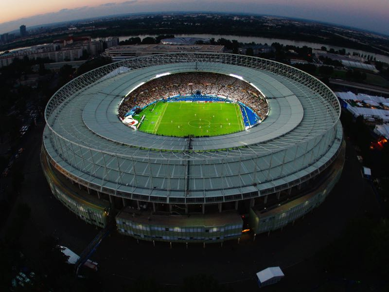 Austria vs Serbia will take place at the Ernst Happel Stadion in Vienna. (Photo by Getty Images)