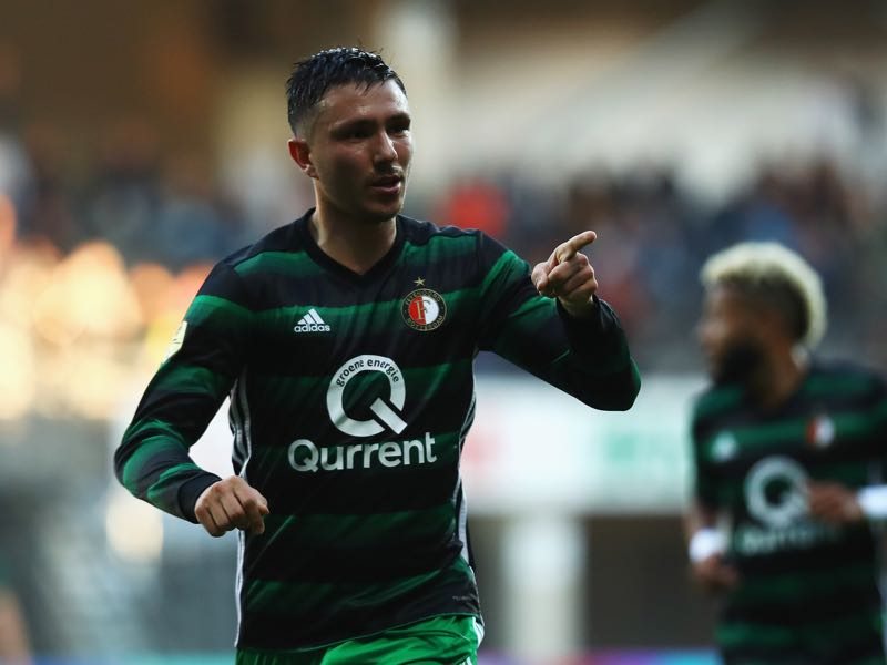 Steven Berghuis will be Feyenoord's key players against Shakhtar. (Photo by Dean Mouhtaropoulos/Getty Images)