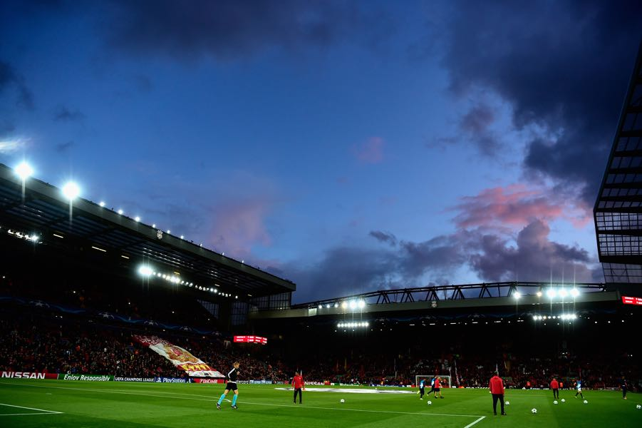 Liverpool vs Spartak Moscow will take place at Anfield. (Photo by Stu Forster/Getty Images)