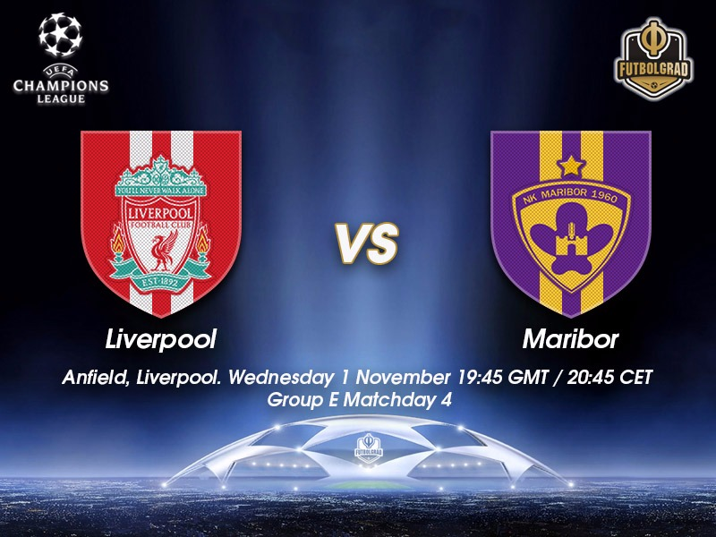Liverpool vs Maribor – Champions League Preview