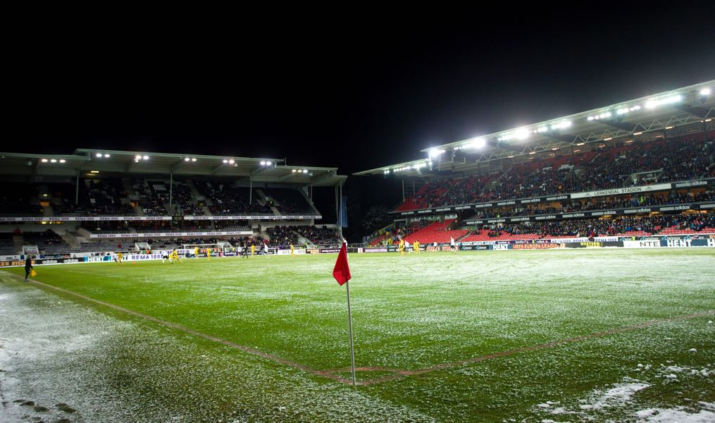 Rosenborg vs Zenit will take place at the Lerkendal Stadion in Trondheim. (Photo by Daniel Sannum Lauten/EuroFootball/Getty Images)