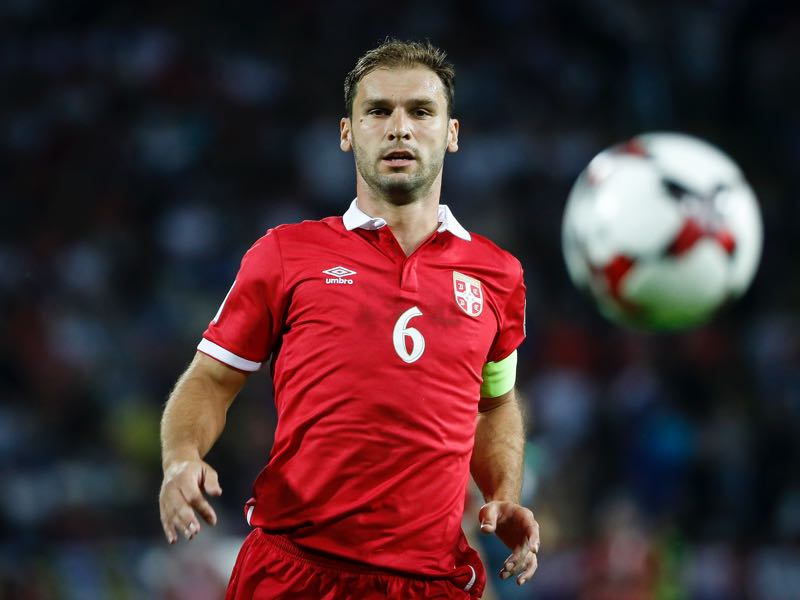 Analysis - Branislav Ivanović remains at the heart of Serbia's defence (Photo by Srdjan Stevanovic/Getty Images)