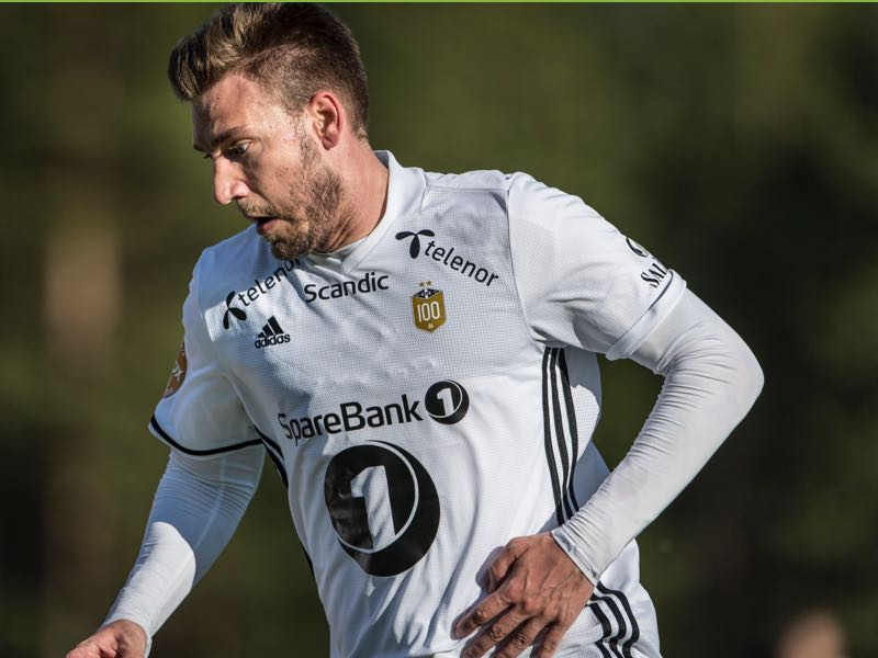 Nicklas Bendtner has found a permanent home in Norway. (Photo by Trond Tandberg/Getty Images)