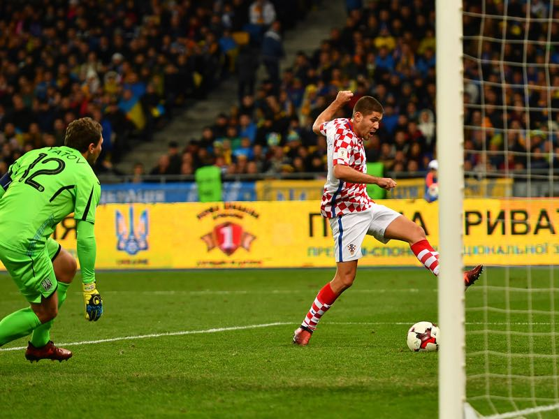 Andrej Kramarić can be a danger man for Croatia. (Photo by Dan Mullan/Getty Images)
