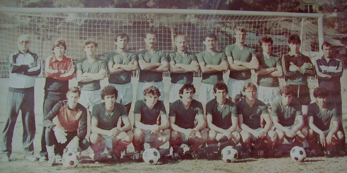 The 1988 Pamir Dushanbe side that managed promotion to the Soviet Vysshaya Liga.