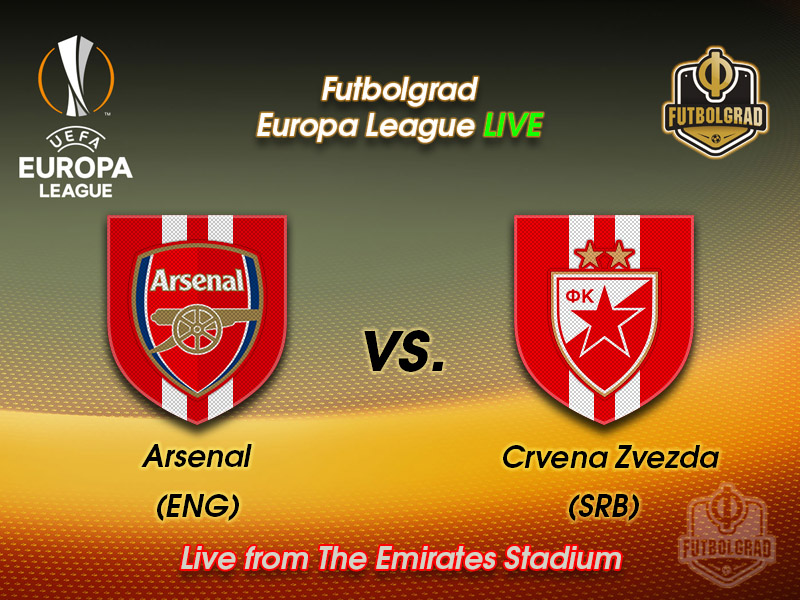 Arsenal v Red Star Belgrade – Europa League Live