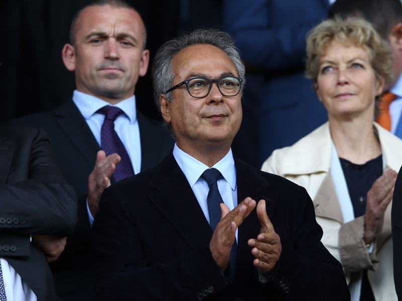Club insists the relationship between Everton shareholder Moshiri and Usmanov is a private matter (Photo by Jan Kruger/Getty Images)