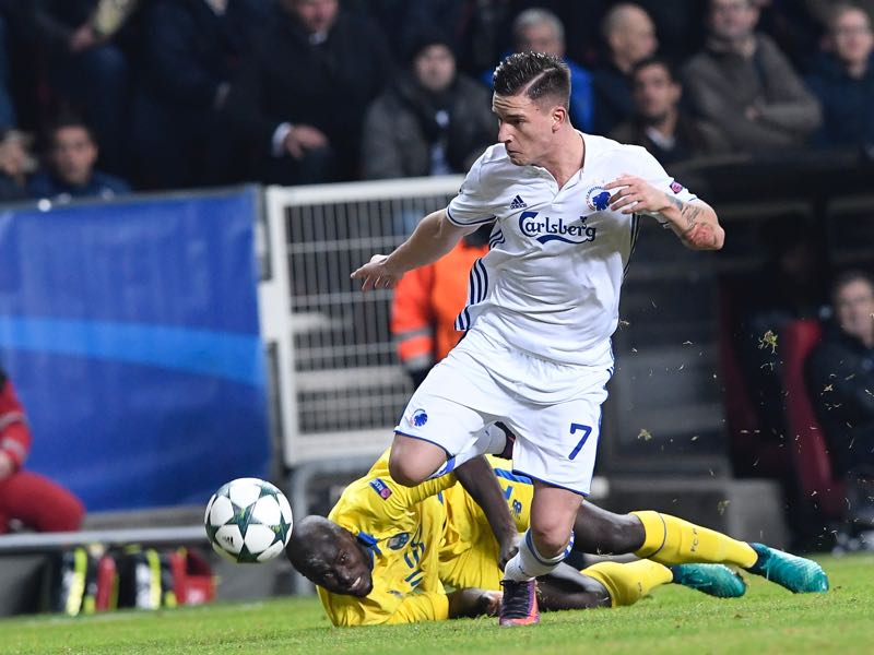 Benjamin Verbić will be Copenhagen's key player. (JONATHAN NACKSTRAND/AFP/Getty Images)