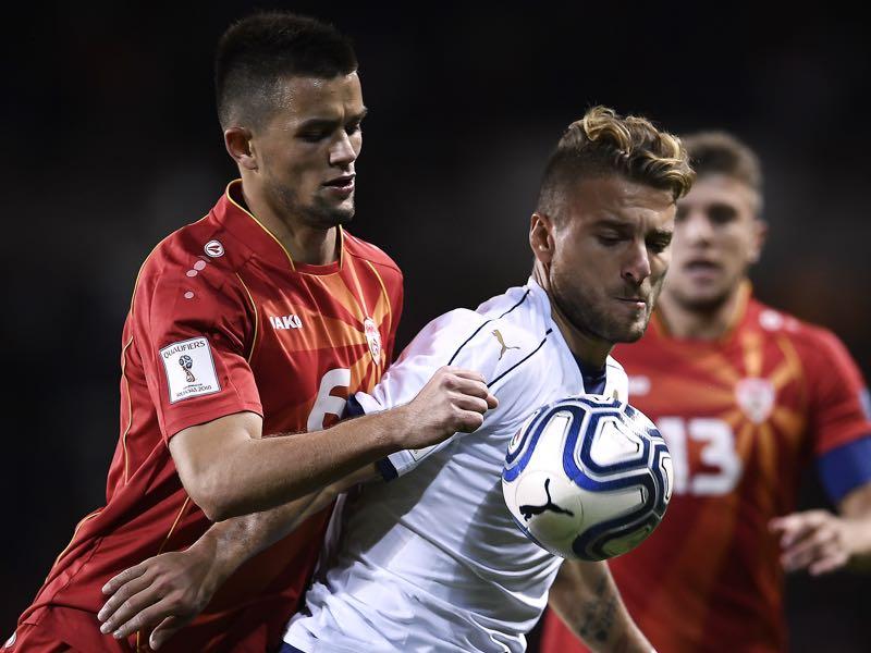 Visar Musliu (l.) is Vardar's player to watch. (MARCO BERTORELLO/AFP/Getty Images)