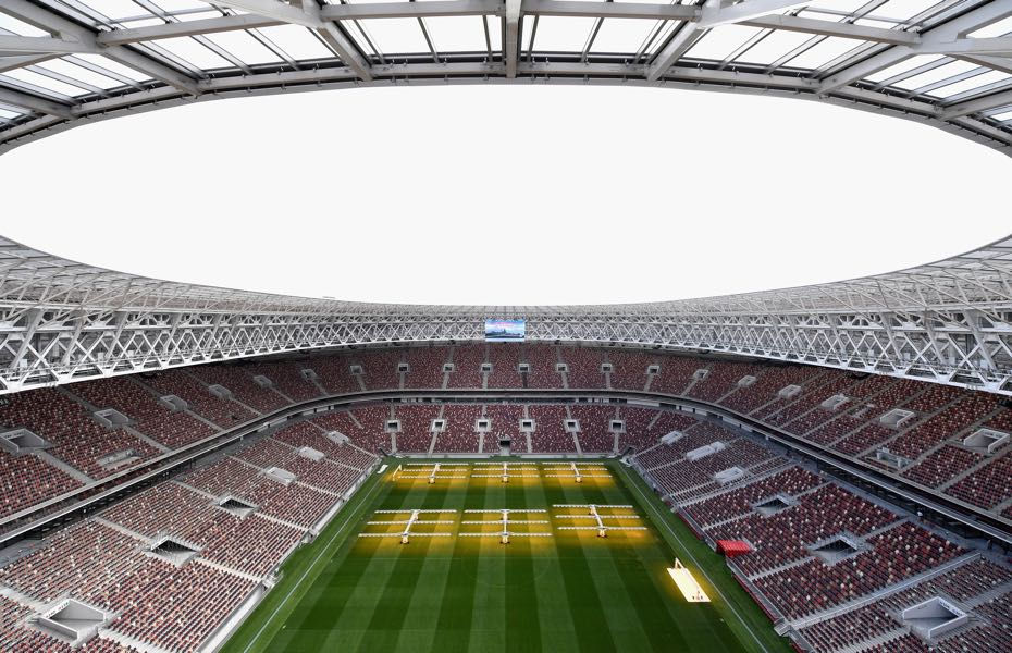 Russia vs Brazil will take place at the newly refurbished Luzhniki Stadium in Moscow. (Photo by Michael Regan/Getty Images)