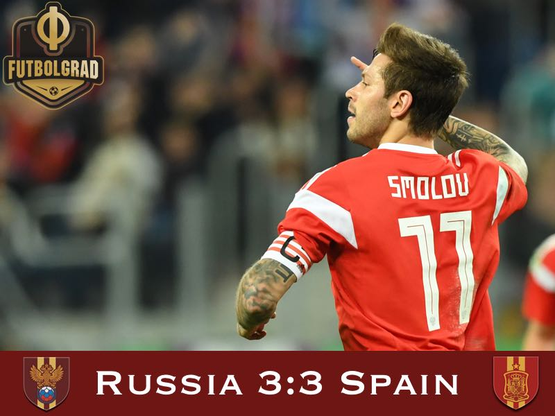 Russia v Spain – International Friendly – Match Report
