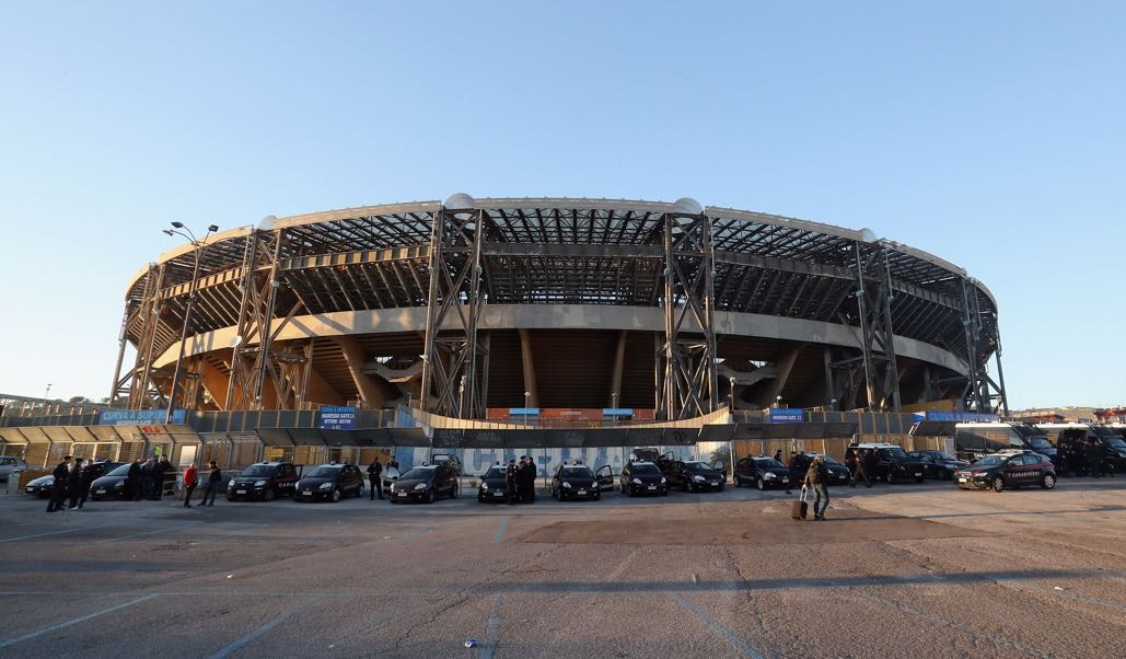 Napoli vs Shakhtar Donetsk will take place at the San Paolo in Napoli. (Photo by Maurizio Lagana/Getty Images)