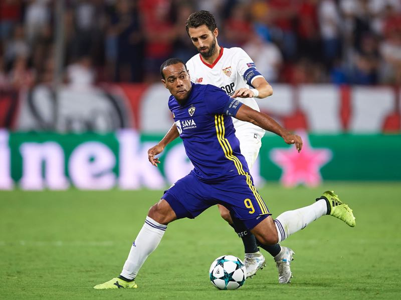 Marcos Tavares will be Maribor's key player. (Photo by Aitor Alcalde/Getty Images)